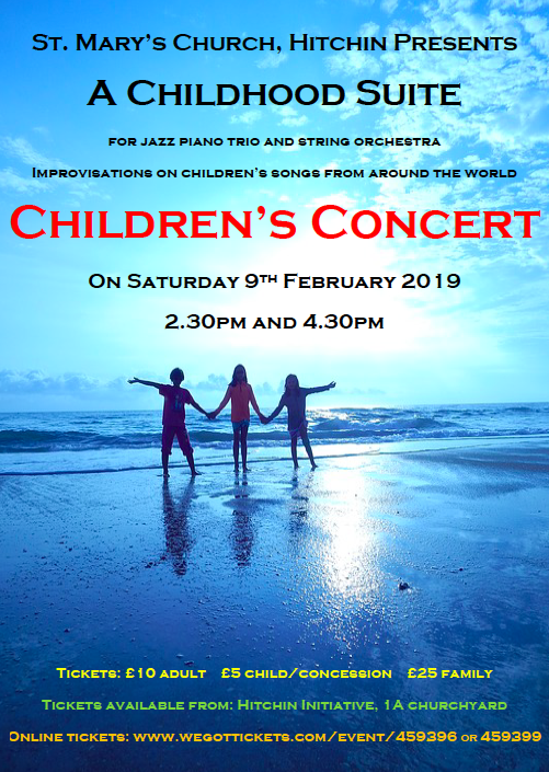A Childhood Suite with Hitchin Chamber Orchestra